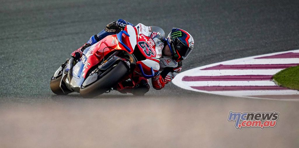 MotoGP QatarTest Day Bagnaia