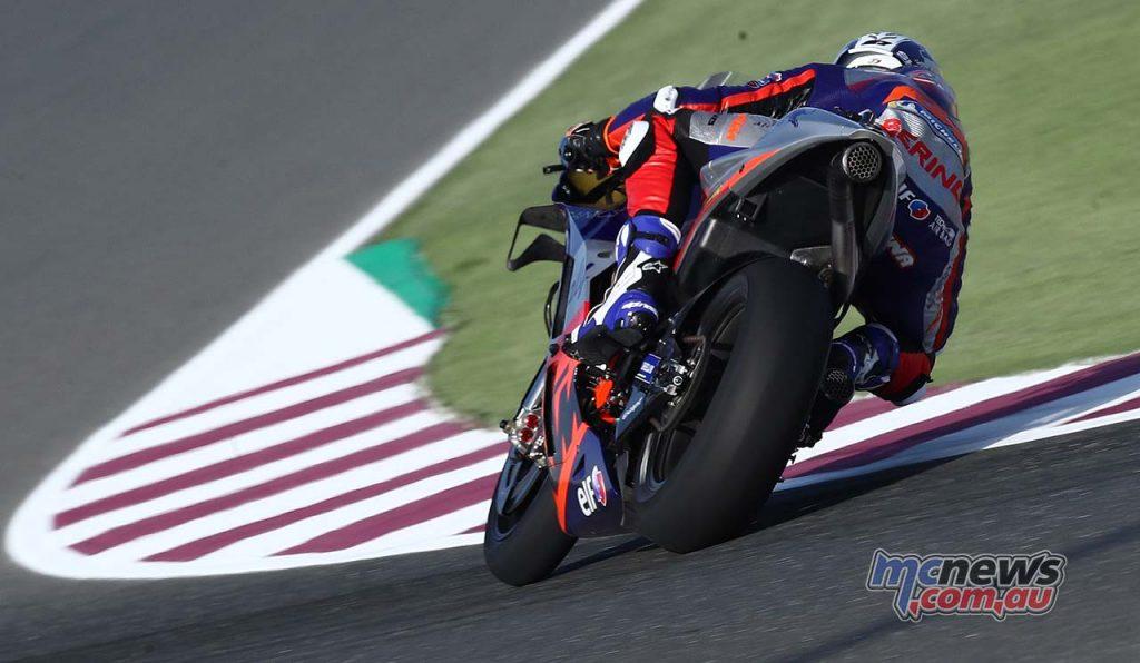 MotoGP QatarTest Day Lecuona QatarTest