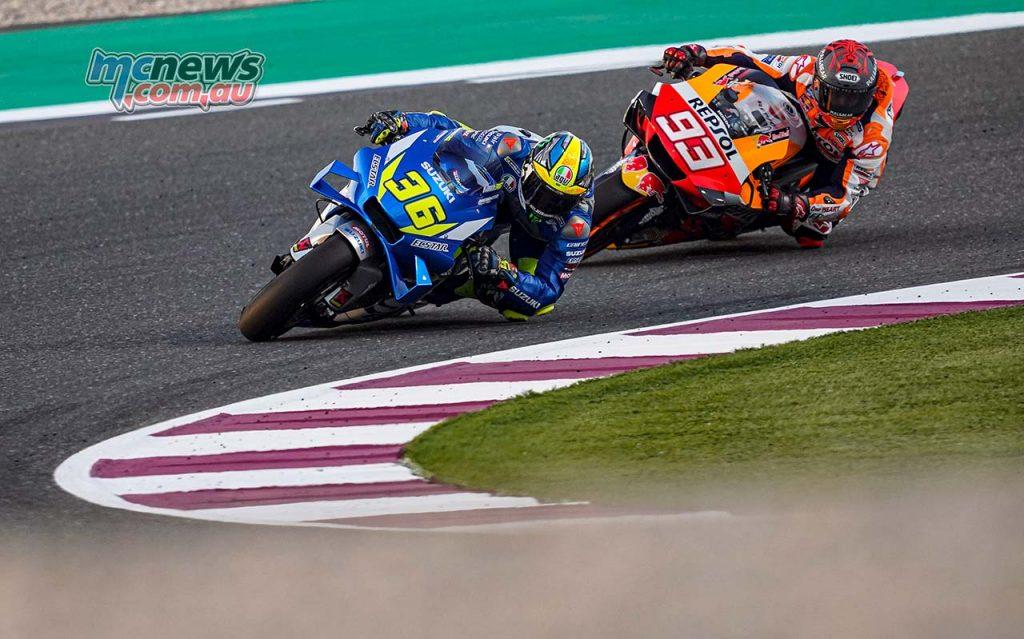 MotoGP QatarTest Day Mir