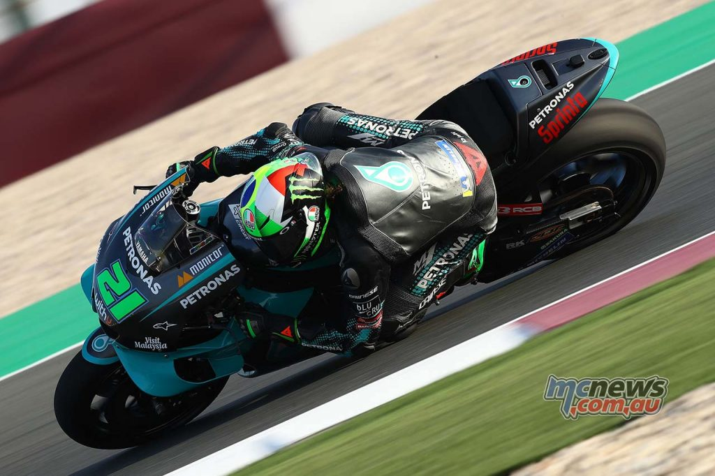 MotoGP QatarTest Day Morbidelli