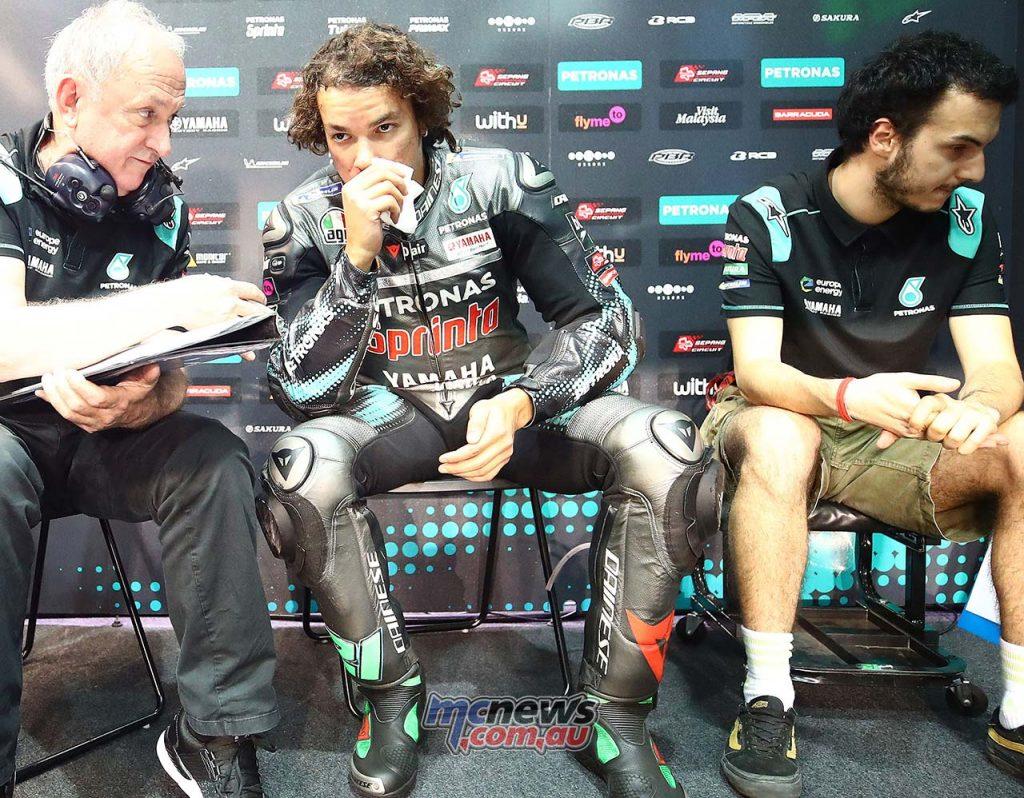 MotoGP QatarTest Day Morbidelli