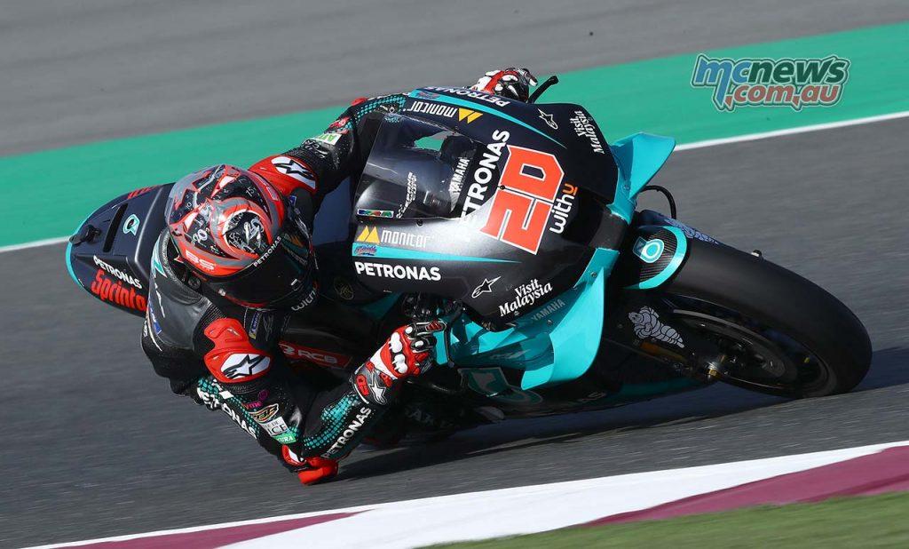 MotoGP QatarTest Day Quartararo