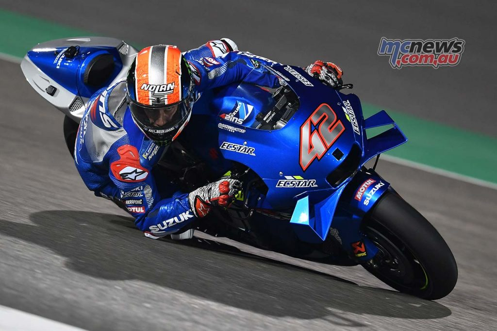 MotoGP QatarTest Day Rins