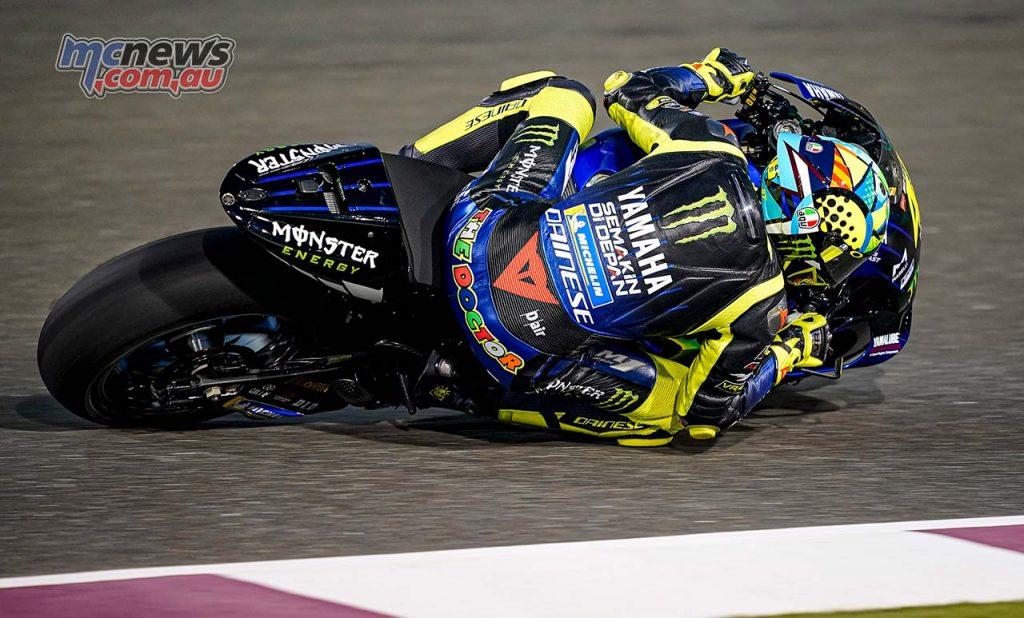 MotoGP QatarTest Day Rossi