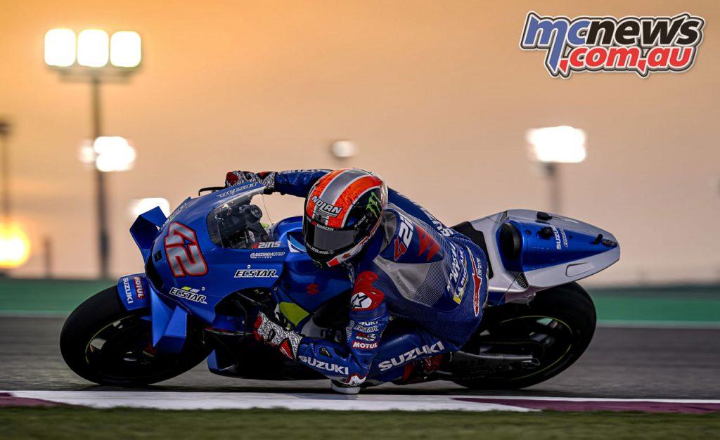 MotoGP QatarTest Day Alex Rins