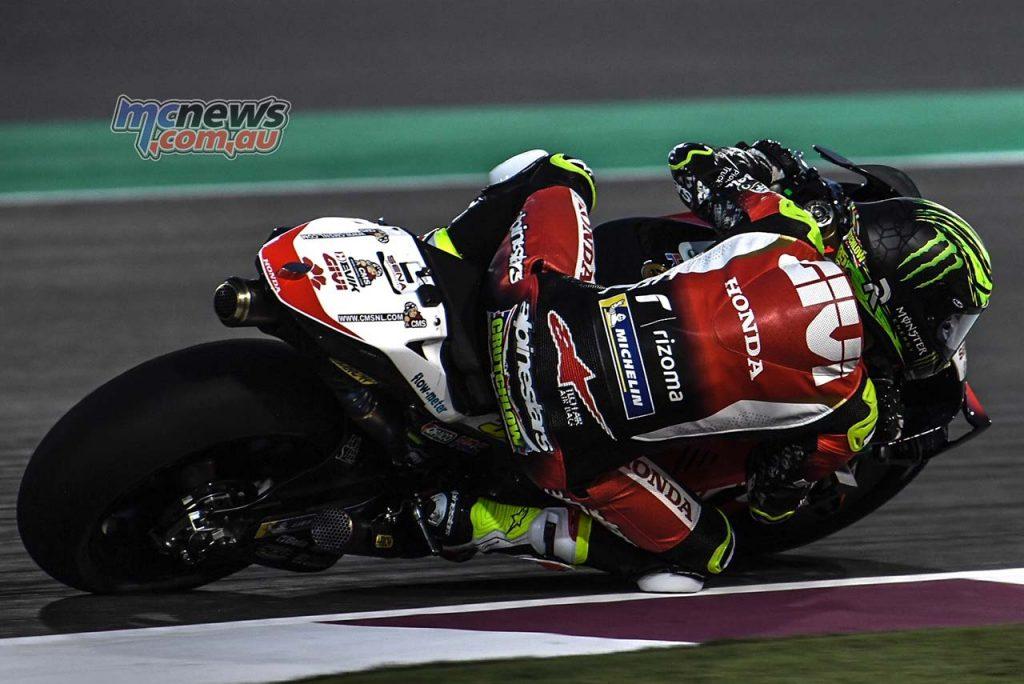 MotoGP QatarTest Day Crutchlow