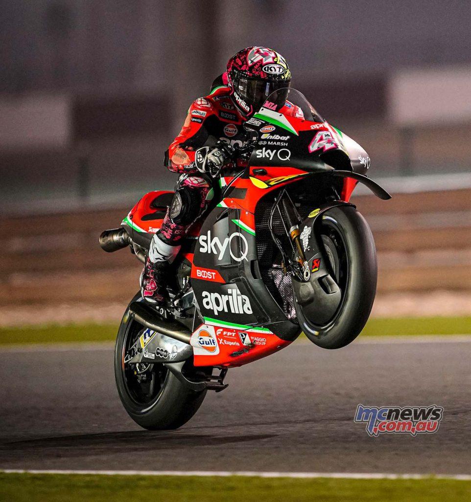 MotoGP QatarTest Day Aleix Espargaro