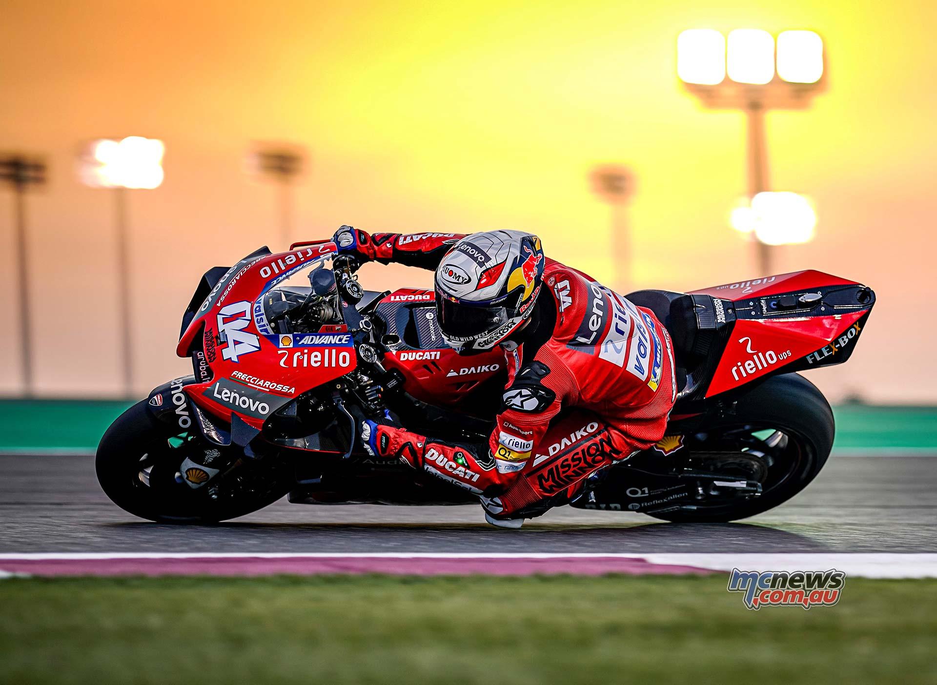 MotoGP QatarTest Day Dovizioso