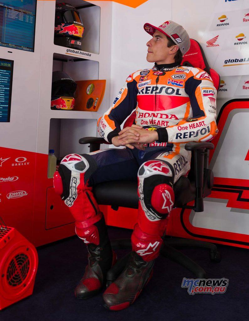 MotoGP QatarTest Day Marc Marquez