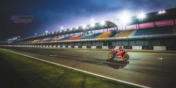 MotoGP QatarTest Day Marc Marquez Cover