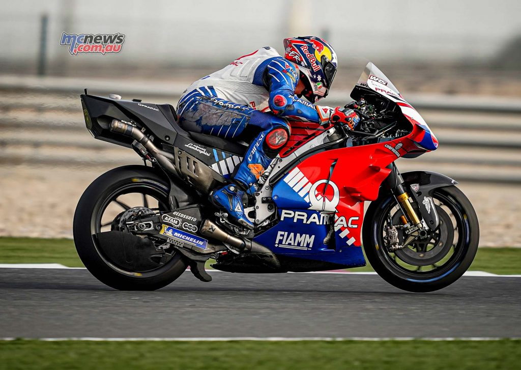 MotoGP QatarTest Day Miller