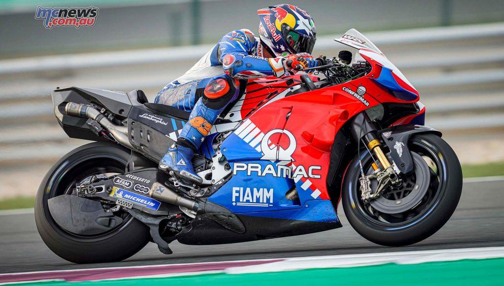 MotoGP QatarTest Day Miller