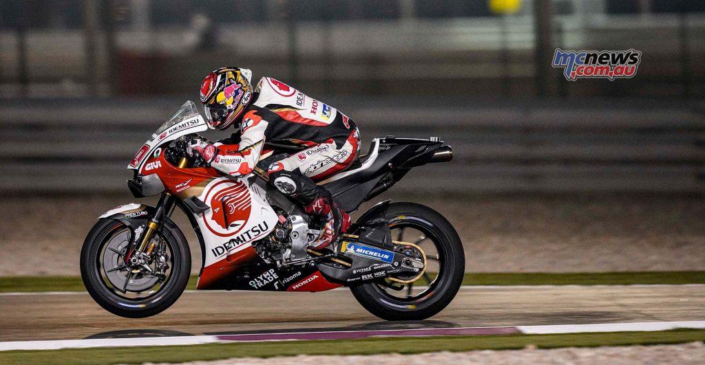 MotoGP QatarTest Day Nakagami
