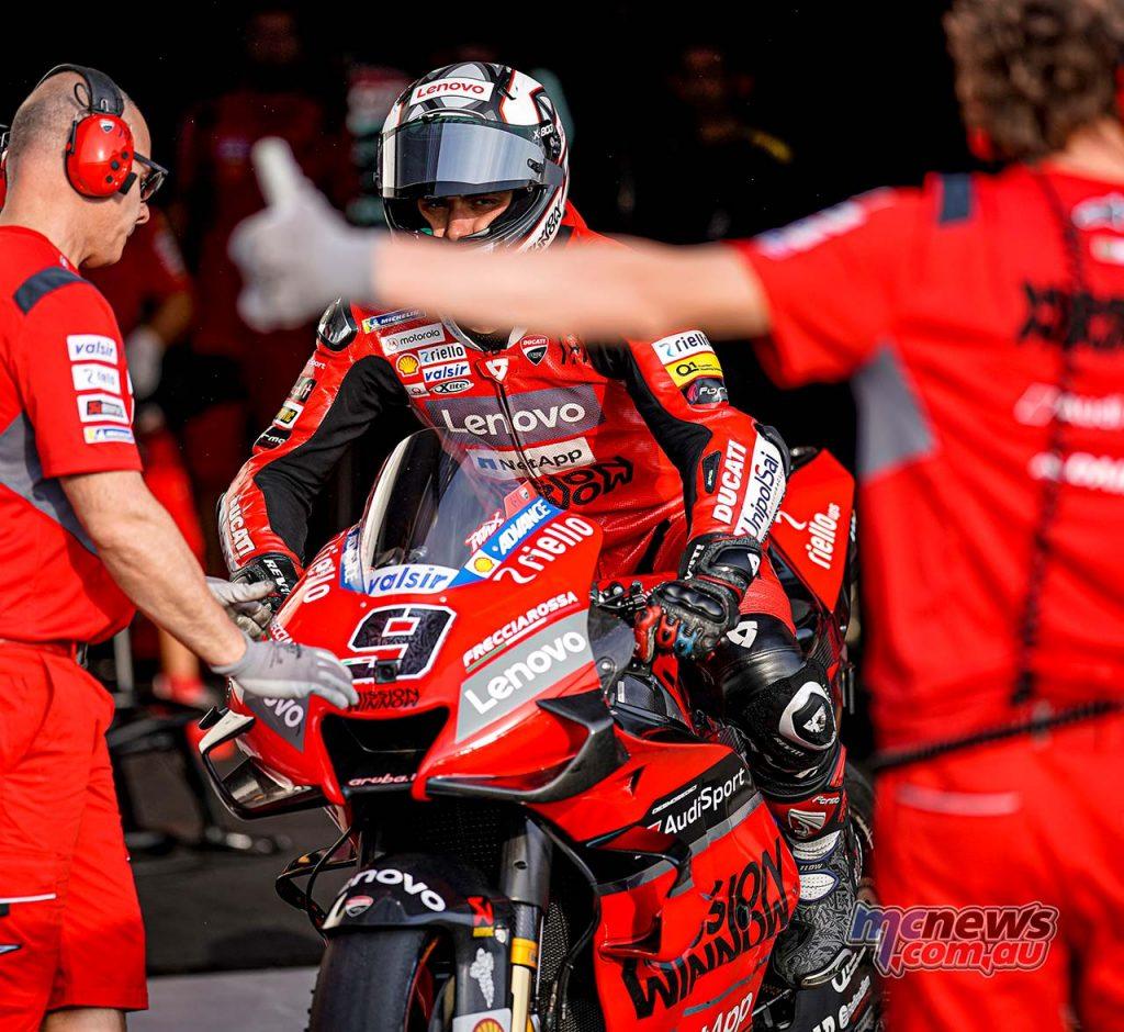 MotoGP QatarTest Day Petrucci