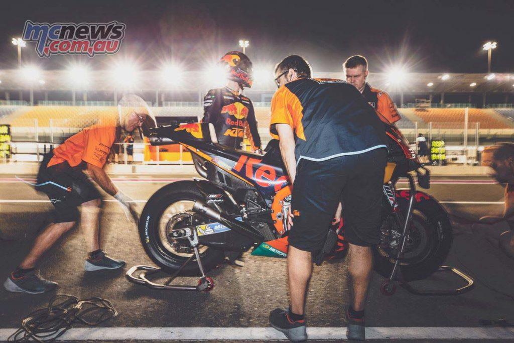 MotoGP QatarTest Day Pol Espargaro
