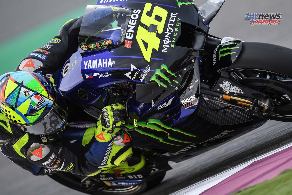 MotoGP QatarTest Day Rossi