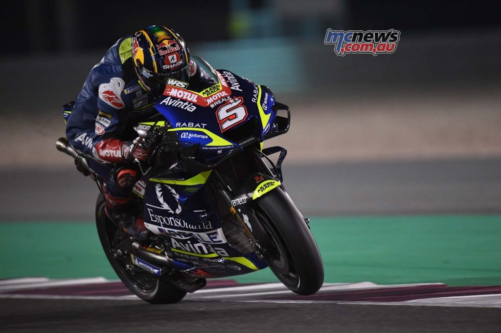 MotoGP QatarTest Day Zarco