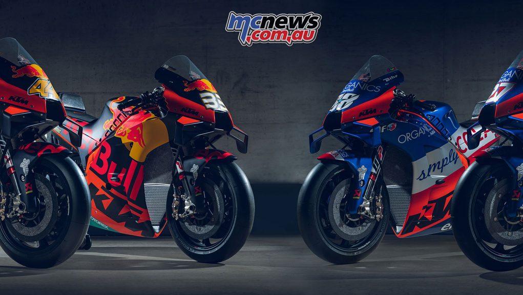 MotoGP Red Bull KTM Factory Racing Red Bull KTM Tech RCs Cover
