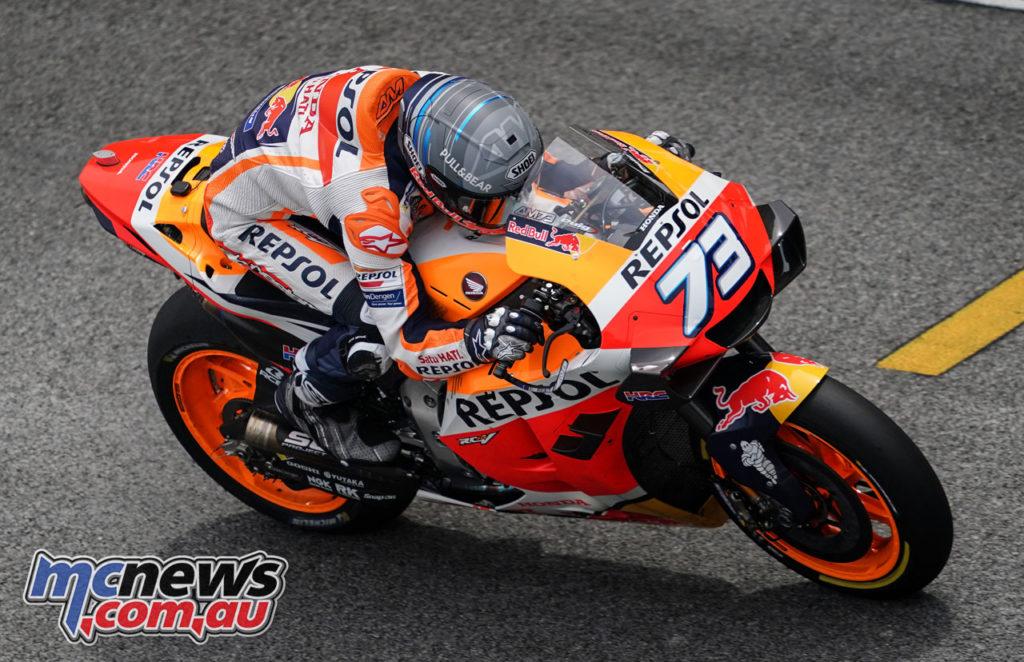 MotoGP Sepang Test Day Alex Marquez