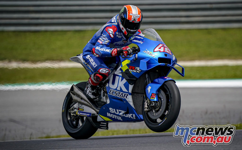 MotoGP Sepang Test Day Alex Rins