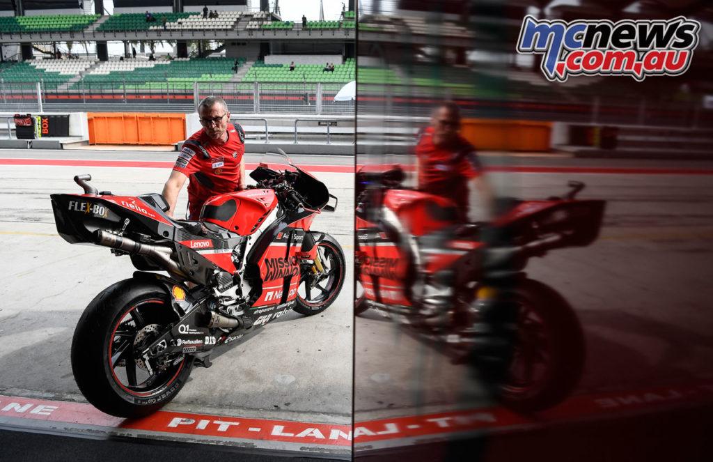 MotoGP Sepang Test Day Andrea Dovizioso
