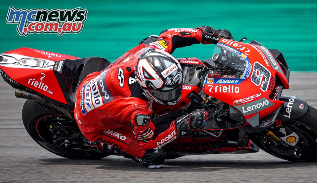 MotoGP Sepang Test Day Danilo Petrucci