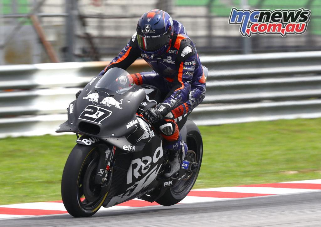 MotoGP Sepang Test Day Iker Lecuona