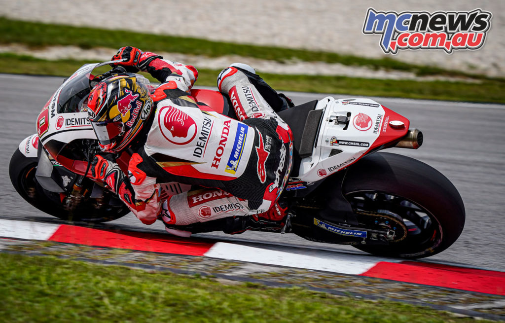 MotoGP Sepang Test Day Takaaki Nakagami A
