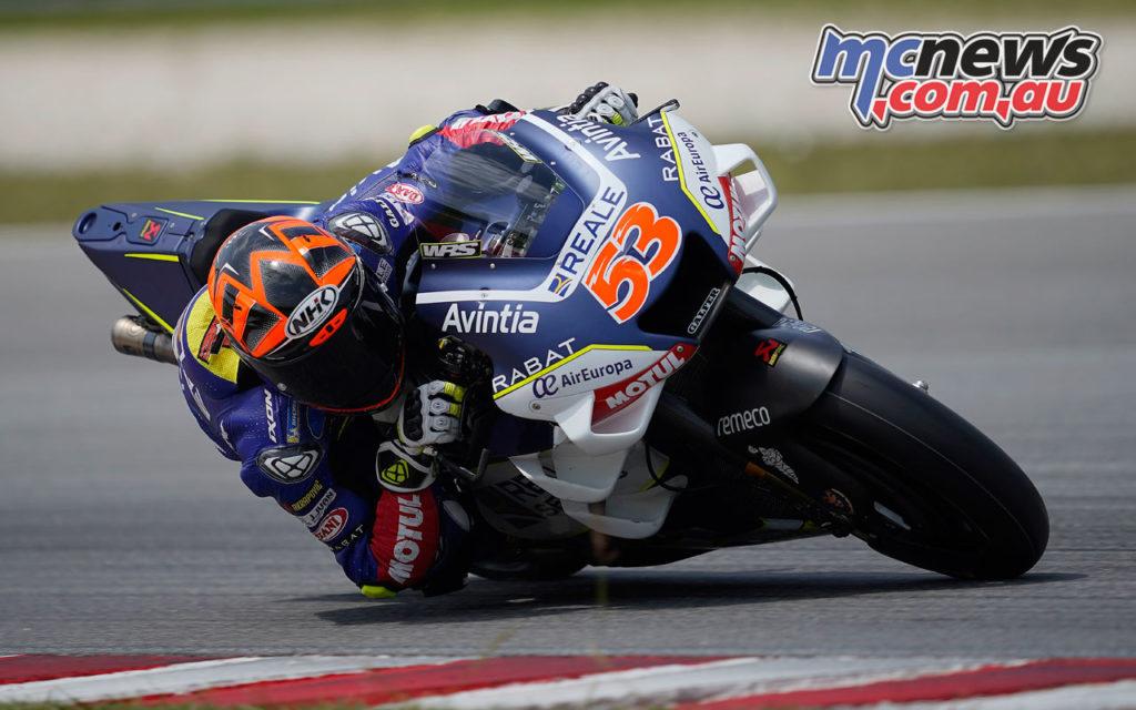 MotoGP Sepang Test Day Tito Rabat