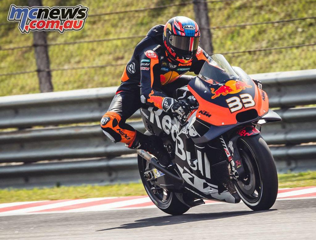 MotoGP Sepang Test Day Brad Binder Moto Malaysia IRTA Test