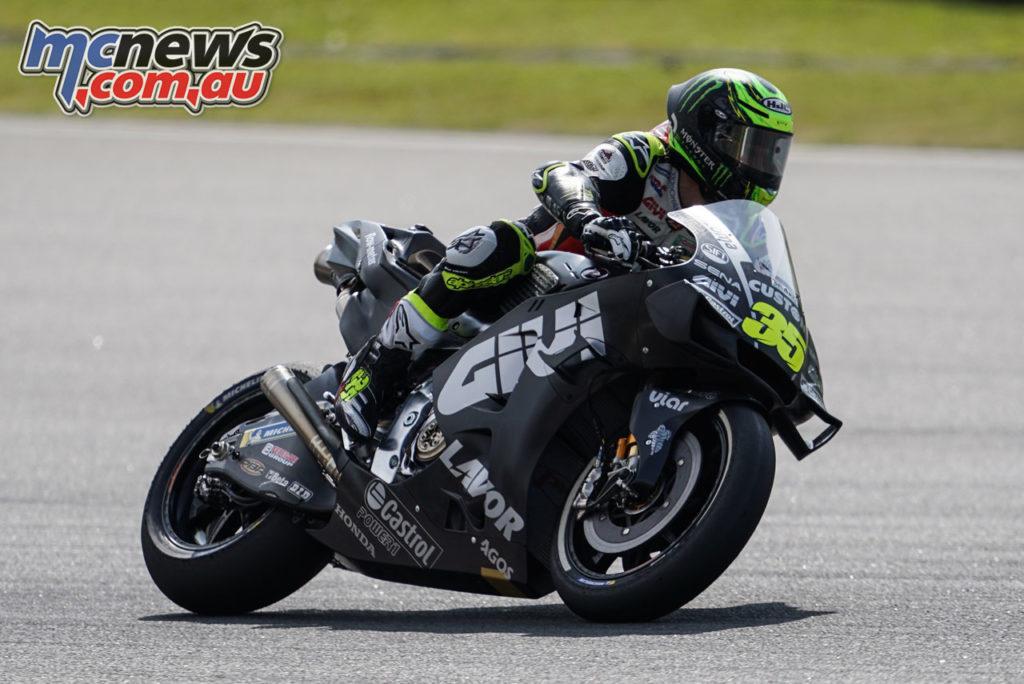 MotoGP Sepang Test Day Crutchlow
