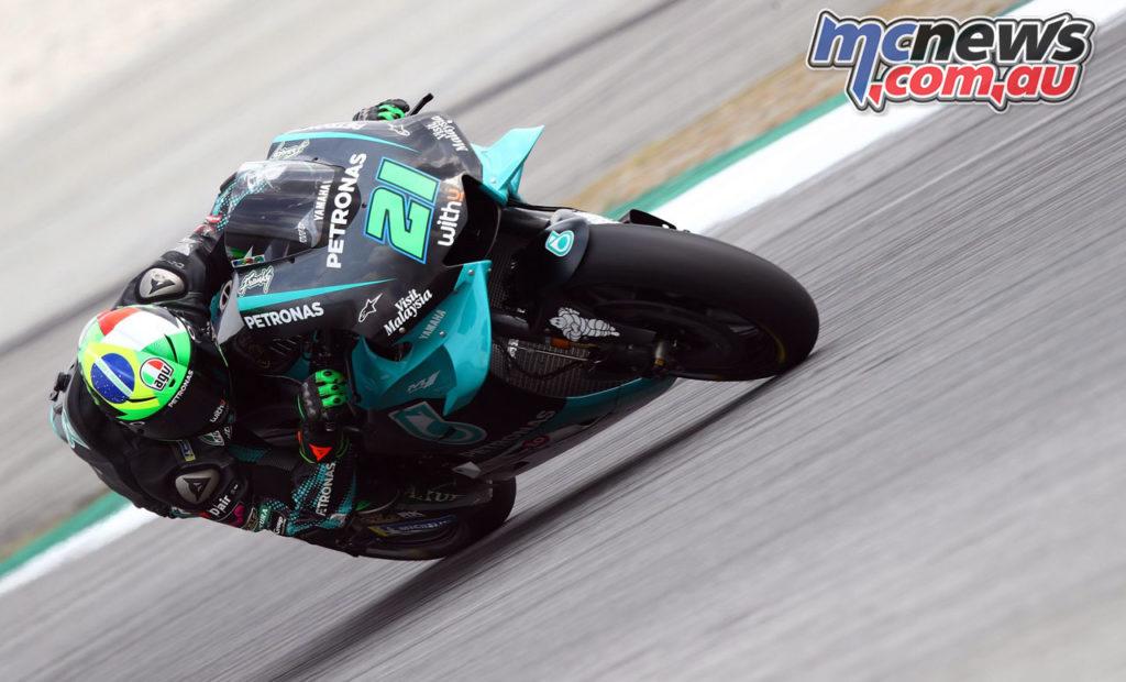 MotoGP Sepang Test Day Franco Morbidelli