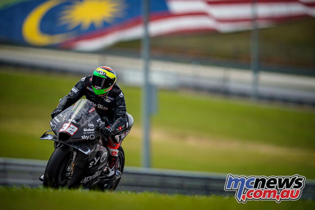 MotoGP Sepang Test Day Lorenzo Savadori