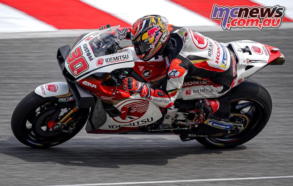 MotoGP Sepang Test Day Nakagami VR A