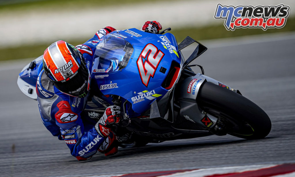 MotoGP Test Sepang Day Alex Rins