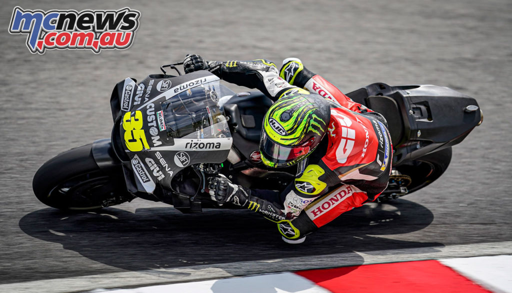MotoGP Test Sepang Day Cal Crutchlow