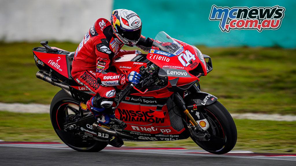 MotoGP Test Sepang Day Dovizioso