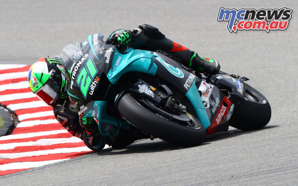 MotoGP Test Sepang Day Franco Morbidelli