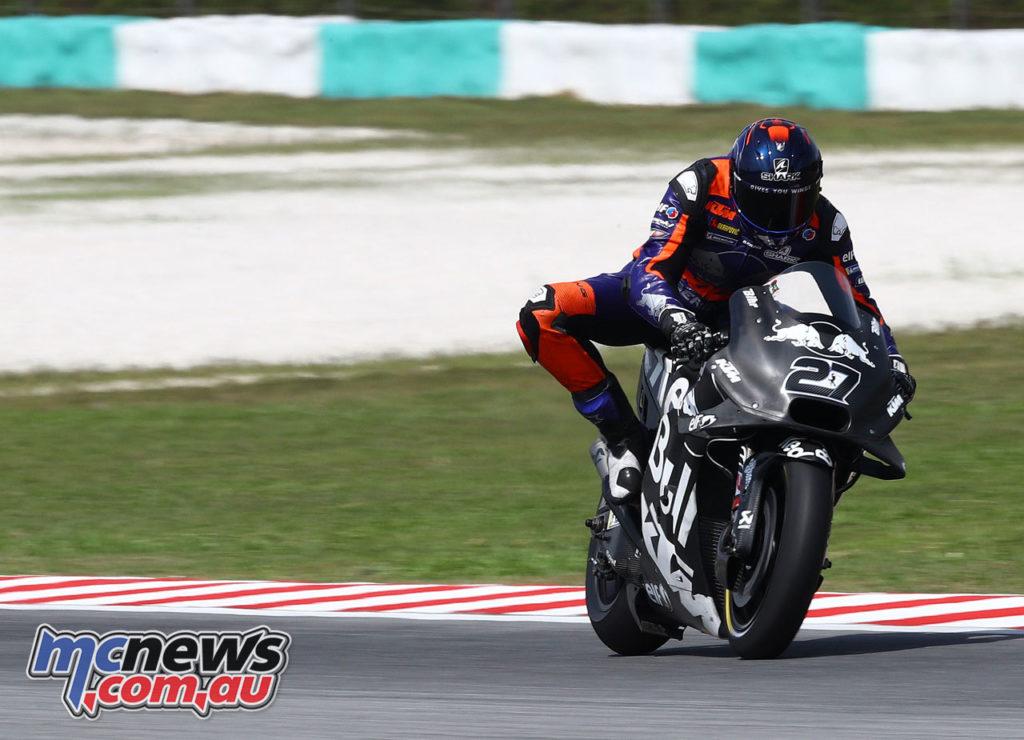 MotoGP Test Sepang Day Iker Lecuona
