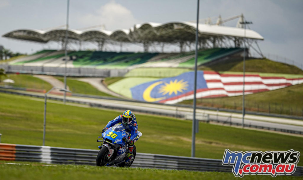 MotoGP Test Sepang Day Joan Mir