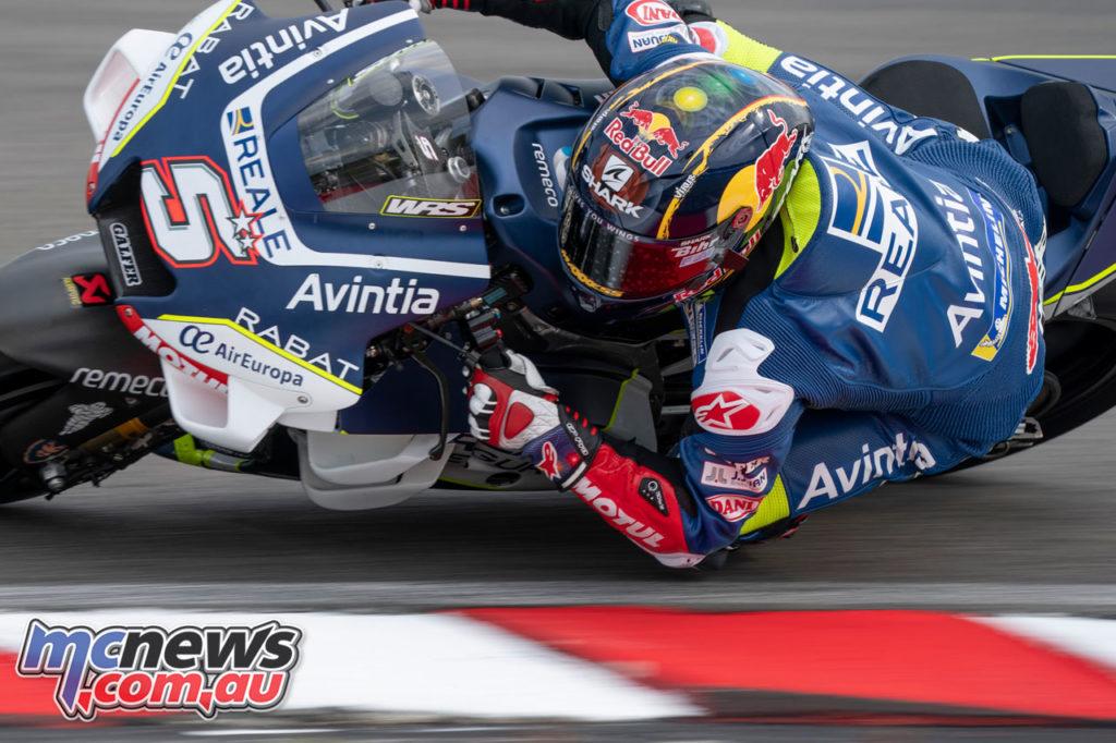 MotoGP Test Sepang Day Johann Zarco