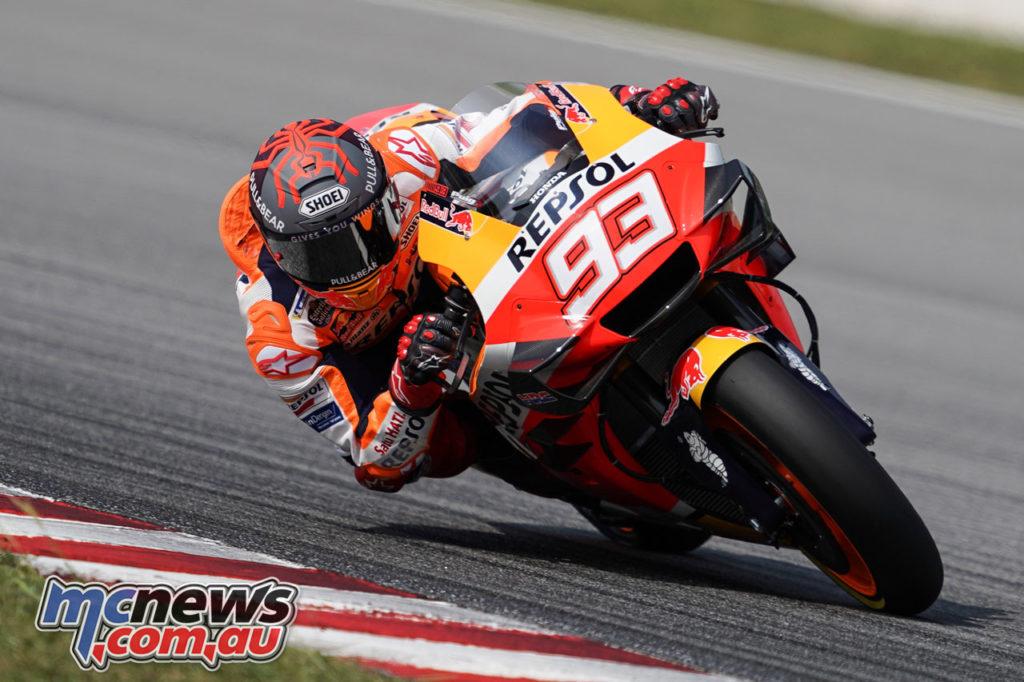 MotoGP Test Sepang Day Marc Marquez