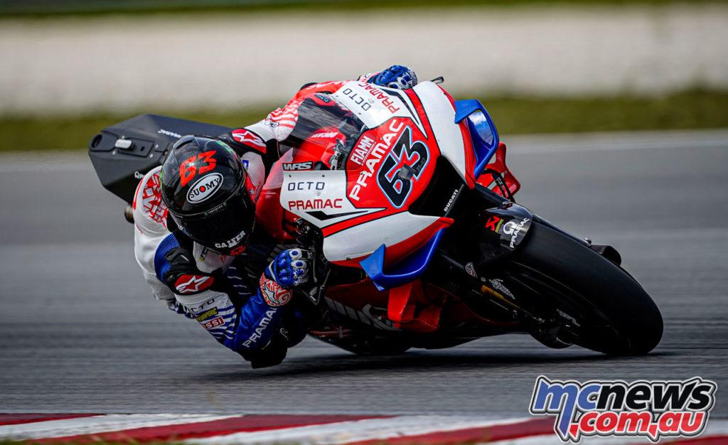 MotoGP Test Sepang Day Pecco Bagnaia