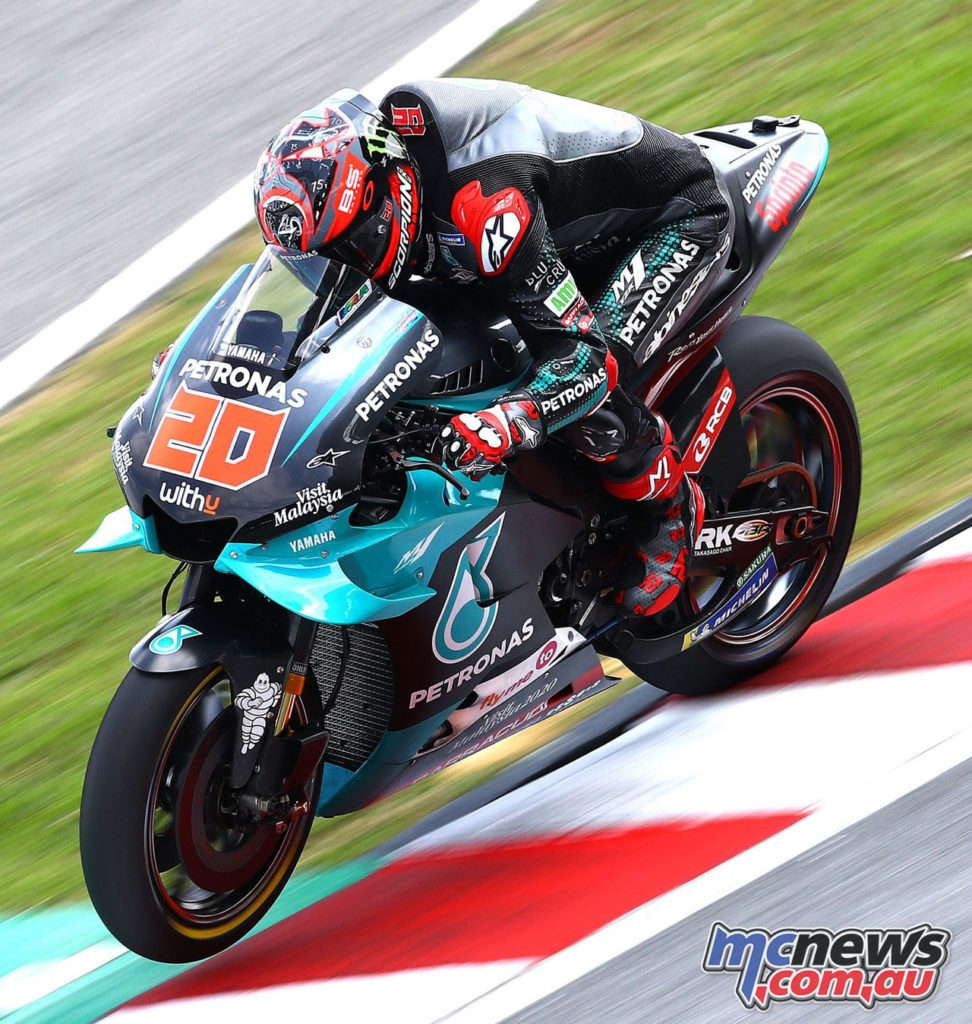 MotoGP Test Sepang Day Quartararo