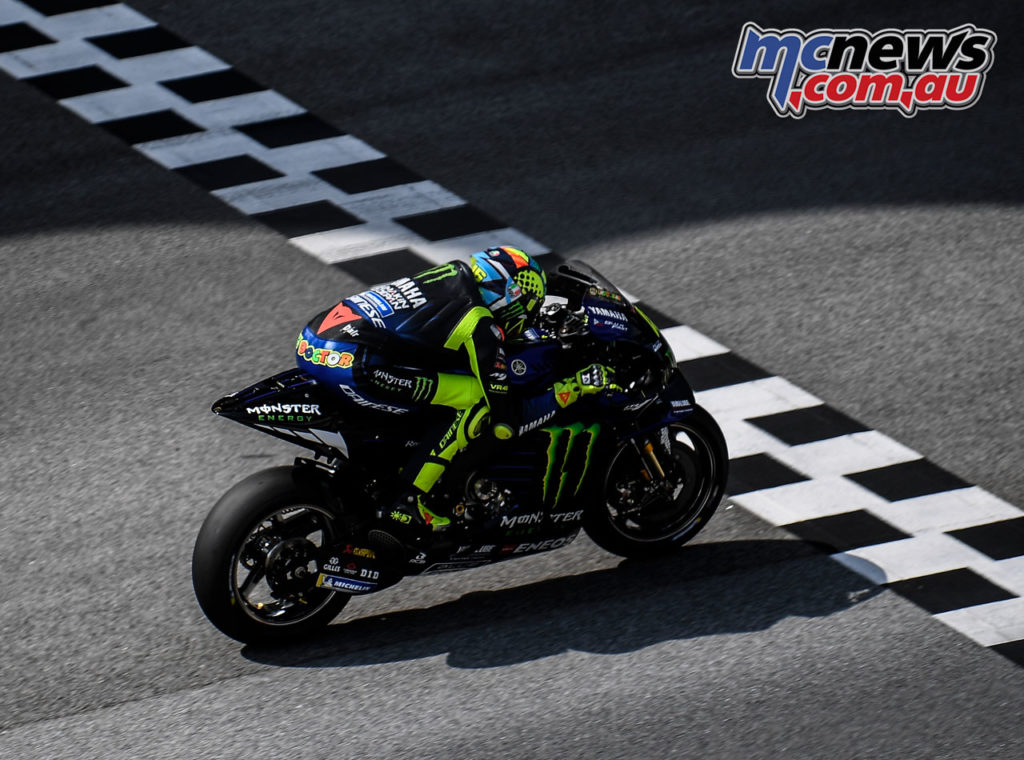 MotoGP Test Sepang Day Rossi