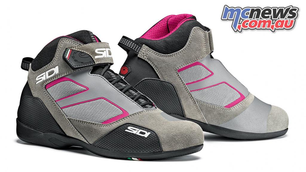 Sidi Meta NeroRosa Women Motorcycle Shoe