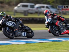 WSBK Rnd Phillip Island RbMotoLens ASSP R Tom TOPARIS Leads Oli BAYLISS
