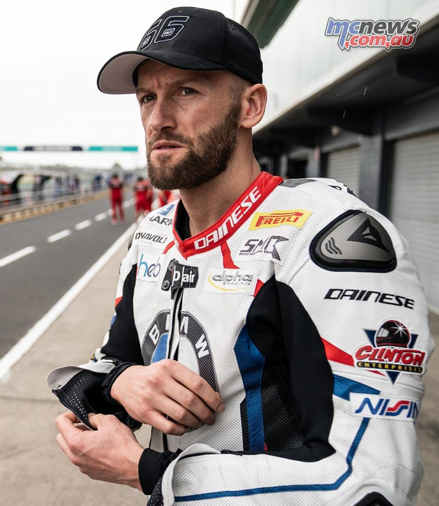 WorldSBK Test PI Monday Sykes