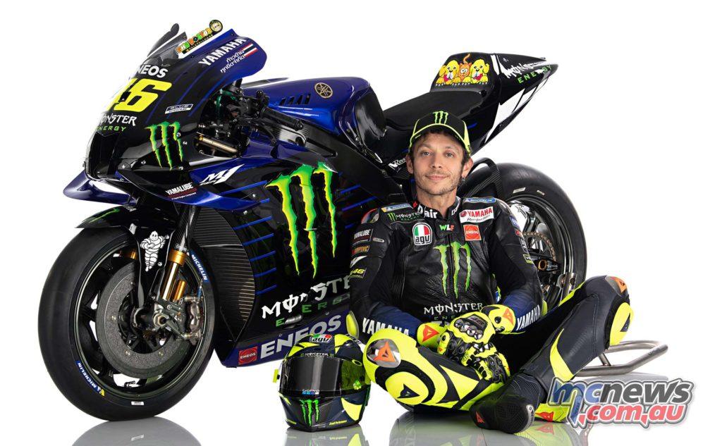 Yamaha YZR M Rider Rossi