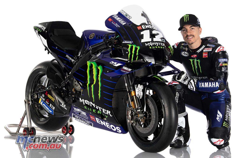 Yamaha YZR M Rider Vinales
